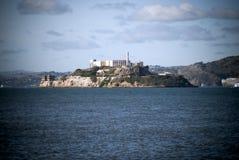 阿尔卡特拉斯岛在旧金山,加利福尼亚 免版税库存照片