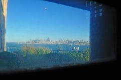 阿尔卡特拉斯岛,旧金山,加利福尼亚,美利坚合众国,美国空军 免版税库存照片