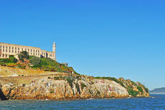 阿尔卡特拉斯岛,旧金山,加利福尼亚,美利坚合众国,美国 免版税库存图片