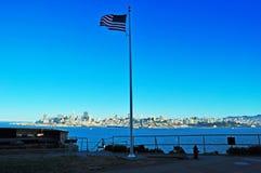 阿尔卡特拉斯岛,旧金山,加利福尼亚,美利坚合众国,美国 库存照片