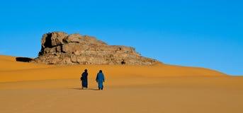 阿尔及利亚撒哈拉大沙漠柏柏尔 库存图片
