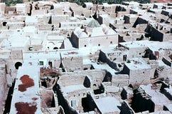 阿尔及利亚村庄 库存图片
