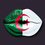 阿尔及利亚标志 图库摄影
