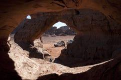 阿尔及利亚横向山撒哈拉大沙漠 免版税库存图片