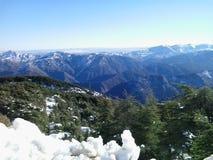 阿尔及利亚的山 免版税库存照片