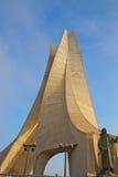 阿尔及利亚的纪念碑 免版税库存图片