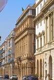 阿尔及利亚,阿尔及尔的银行 库存图片
