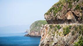 阿尔及利亚bejaia风景 库存照片