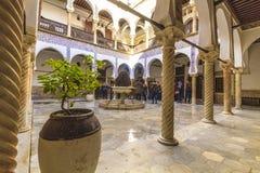 阿尔及尔宫殿  免版税库存图片