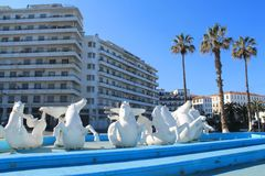 阿尔及尔,阿尔及利亚首都 库存照片