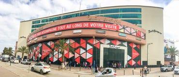 阿尔及尔,阿尔及利亚- 2016年10月1日:Bab Ezzouar商城 大厦在一个新的商业区,阿尔及尔Bab-Ezzouar办公室spac 库存图片