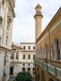 阿尔及尔Ibn Badis清真寺  本Badis建立了阿尔及利亚的回教乌里玛的协会, wa 免版税库存照片