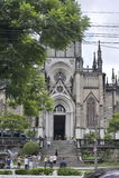 阿尔坎塔拉大教堂圣伯多禄在Petropolis,里约热内卢 库存照片