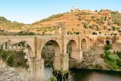 阿尔坎塔拉桥梁  免版税图库摄影