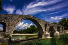 阿尔塔桥梁 库存图片