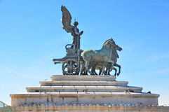 阿尔塔雷德拉Patria,罗马意大利 库存照片