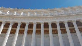阿尔塔雷della帕特里亚,威尼斯广场,罗马意大利 免版税库存照片