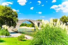 阿尔塔,希腊桥梁  免版税库存照片