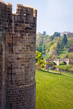 1309年阿尔尼克城堡公爵伯爵英国家其次居住了最大的northumberland percy s 免版税图库摄影