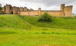 1309年阿尔尼克城堡公爵伯爵英国家其次居住了最大的northumberland percy s 免版税库存照片