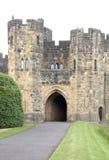 阿尔尼克城堡警卫室 免版税库存照片