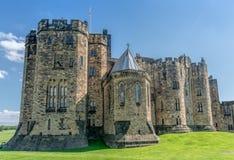 阿尔尼克城堡,英国 库存图片