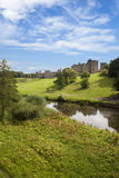 阿尔尼克城堡, Northumberland。 免版税库存照片