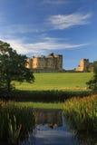 阿尔尼克城堡 免版税库存照片