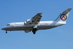 阿尔巴尼亚语的航空公司 库存图片