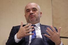 阿尔巴尼亚Edi Rama的总理 免版税库存图片