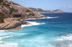 阿尔巴尼澳洲西部峭壁的岩石 免版税库存图片