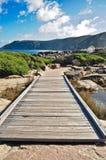 阿尔巴尼澳洲跨接landcape 免版税库存图片