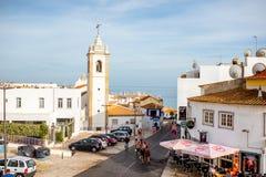 阿尔布费拉镇在葡萄牙 免版税库存照片