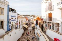 阿尔布费拉镇在葡萄牙 免版税库存图片