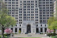 阿尔弗莱德E 史密斯大厦在阿尔巴尼 库存图片