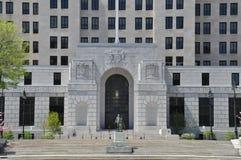 阿尔弗莱德E 史密斯大厦在阿尔巴尼 免版税库存图片