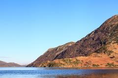 阿尔斯沃特湖视图 免版税库存照片