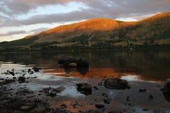 阿尔斯沃特湖 免版税库存照片