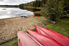 阿尔根金族公园Muskoka安大略湖原野 免版税库存照片
