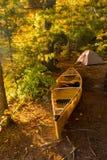 阿尔根金族露营地 库存图片