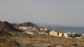 阿尔梅里雅西班牙的海岸 免版税库存图片