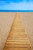 阿尔梅里雅Cabo加塔角圣何塞海滩西班牙 免版税库存照片