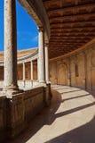阿尔汉布拉宫殿在格拉纳达西班牙 库存图片