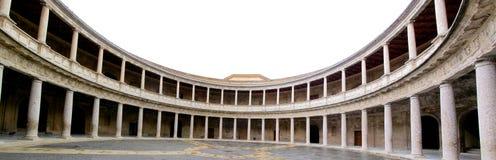 阿尔汉布拉查尔斯宫殿v 免版税库存图片