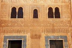 阿尔汉布拉格拉纳达宫殿 免版税库存图片