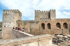 阿尔汉布拉格拉纳达西班牙 免版税图库摄影