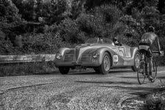 阿尔法・罗密欧6C 2500 SS蜘蛛COLLI 1947年 库存图片