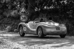 阿尔法・罗密欧6C 2500 SS蜘蛛COLLI 1947年 免版税图库摄影