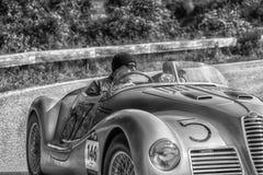 阿尔法・罗密欧6C 2500 SS蜘蛛COLLI 1947年 免版税库存照片