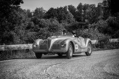 阿尔法・罗密欧6C 2500 SS蜘蛛COLLI 1947年 免版税库存图片